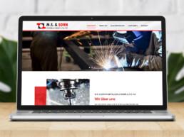 M. S. & Sohn Metallbau GmbH & Co. KG - Firma iz Nemacke za obradu metala - izrada sajta