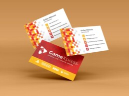 GamesXpress Beograd dizajn vizit karte vizitke kartice 2sd design sabac 2sddesign